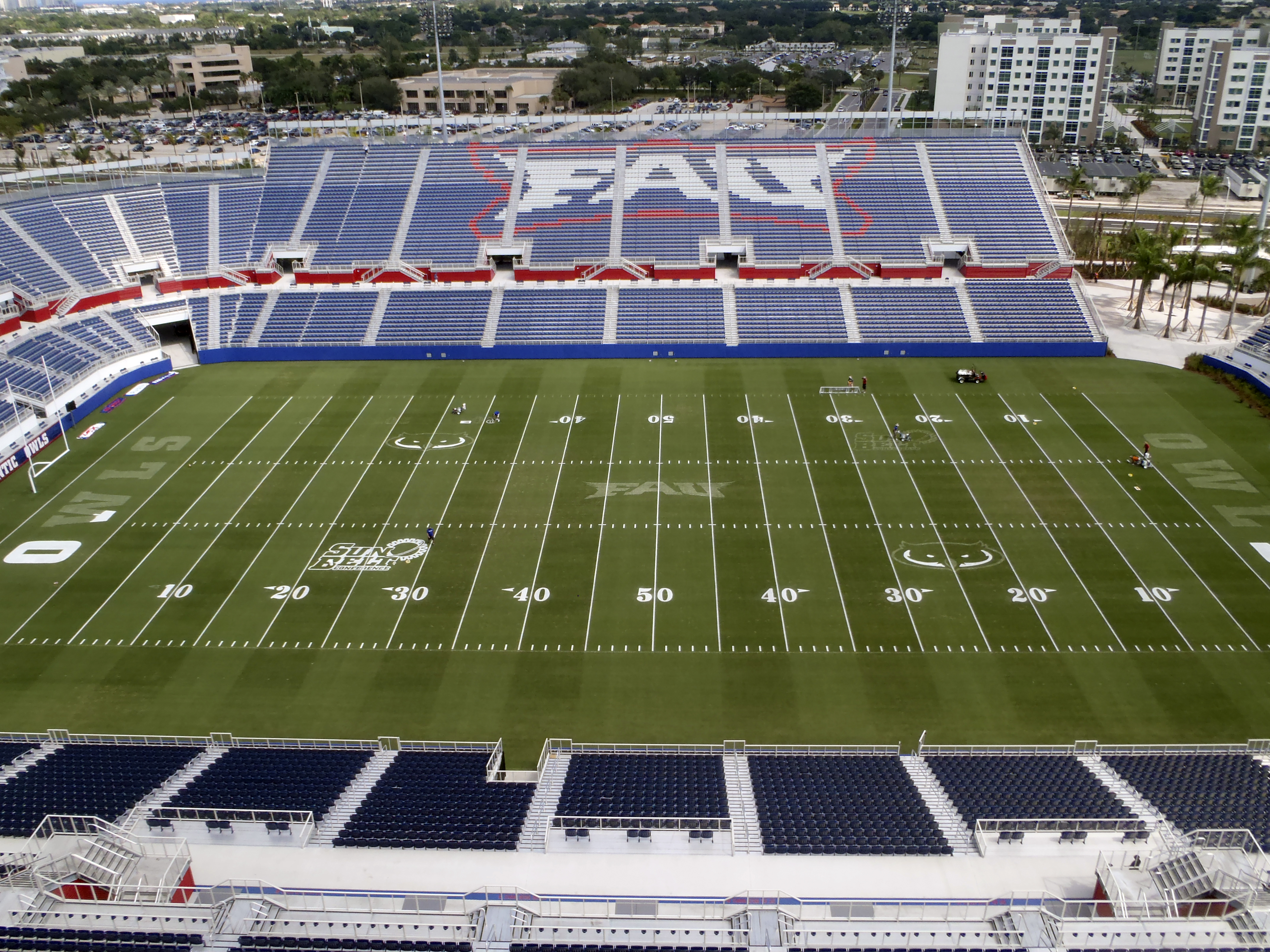 FAU Stadium, the home of the 2012 MLL All-Star Game.