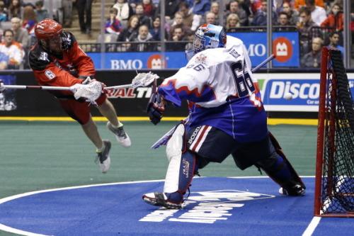 Toronto Rock versus Calgary Roughnecks