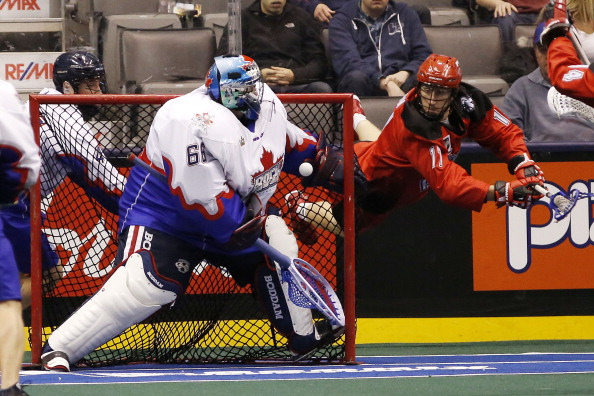 Toronto Rock versus Calgary Roughnecks