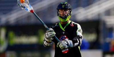 UNIONDALE, NY - JULY 03:  Rob Pannell #3 of the New York Lizards in action against the Florida Launch during their Major League Lacrosse game at Shuart Stadium on July 3, 2014  in Uniondale, New York. The Lizards defeated the Launch 20-11.  (Photo by Jim McIsaac/Getty Images)