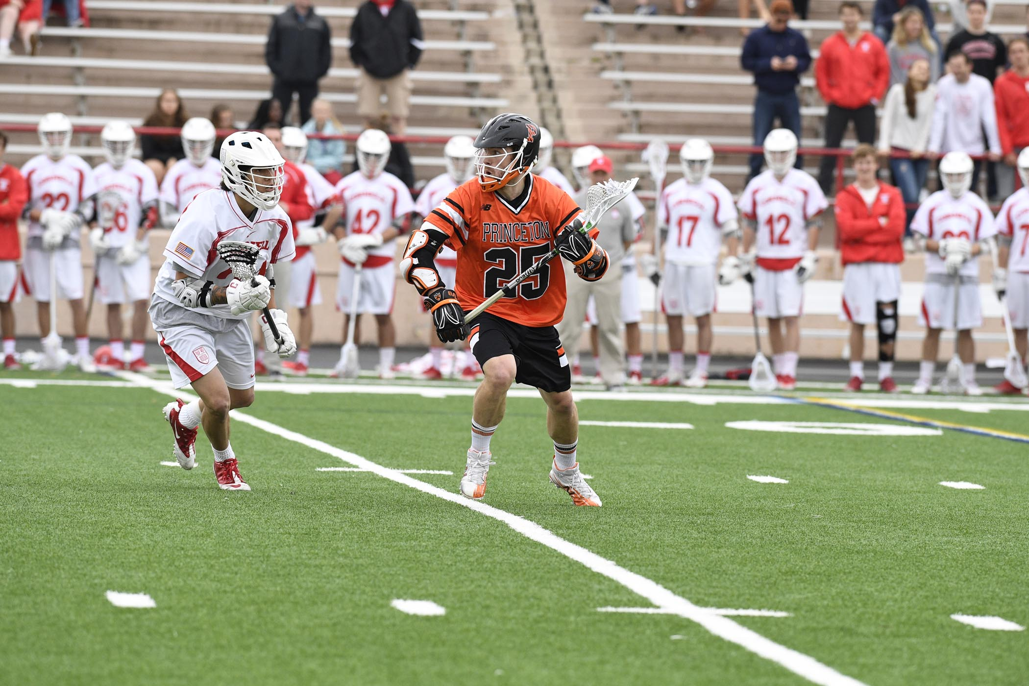 Zach Currier of the Princeton Tigers. (Photo credit: Robert Goldstein)