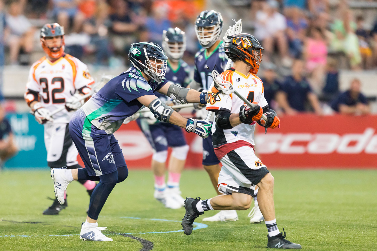 May 19, 2017; Chesapeake, MD, USA; Atlanta Blaze @ Chesapeake Bayhawks at Johns Hopkins University's Homewood Field. Photography Credit: Jermain Rangasammy/Major League Lacrosse