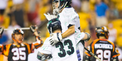 July 22, 2017; Atlanta, GA, USA; Chesapeake Bayhawks @ Atlanta Blaze at Fifth Third Bank Stadium. (Photo: Major League Lacrosse)