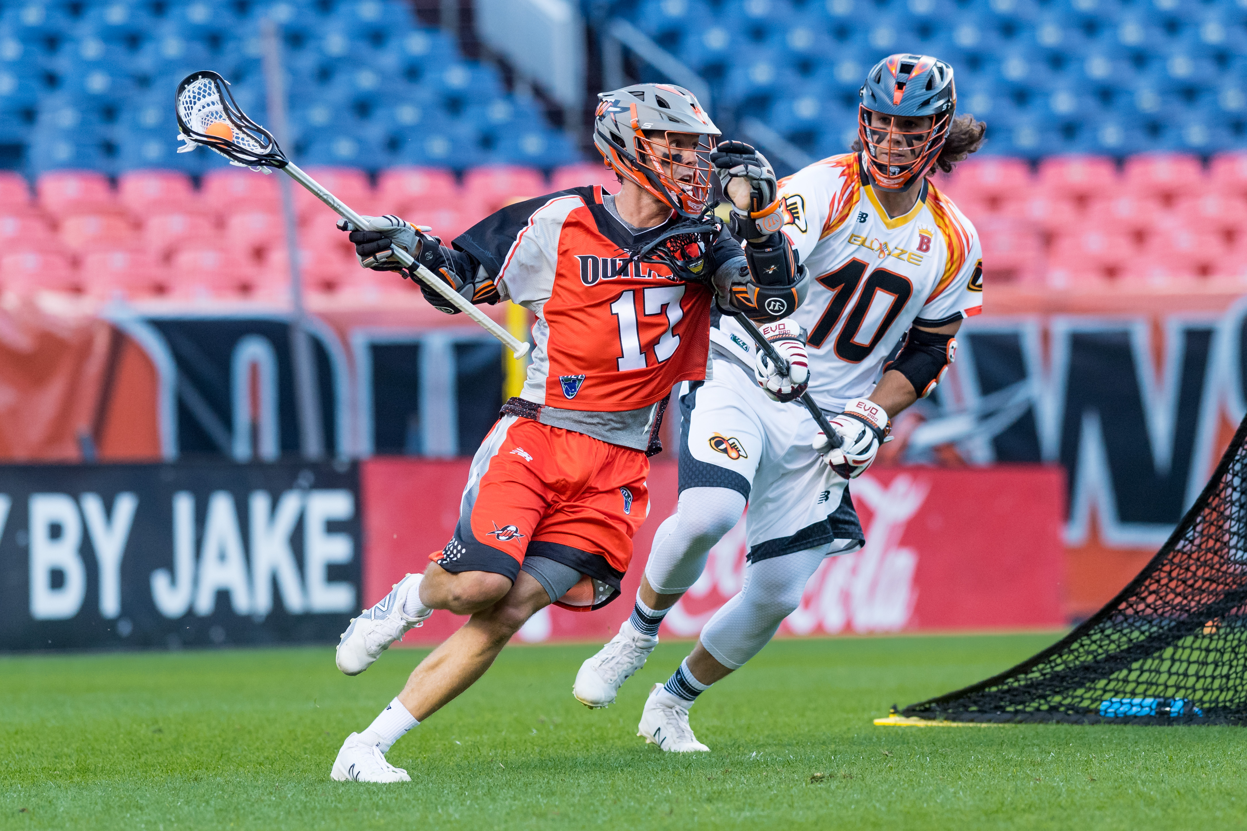 July 4, 2017; Denver, CO, USA; Atlanta Blaze @ Denver Outlaws at Sports Authority Field at Mile High.