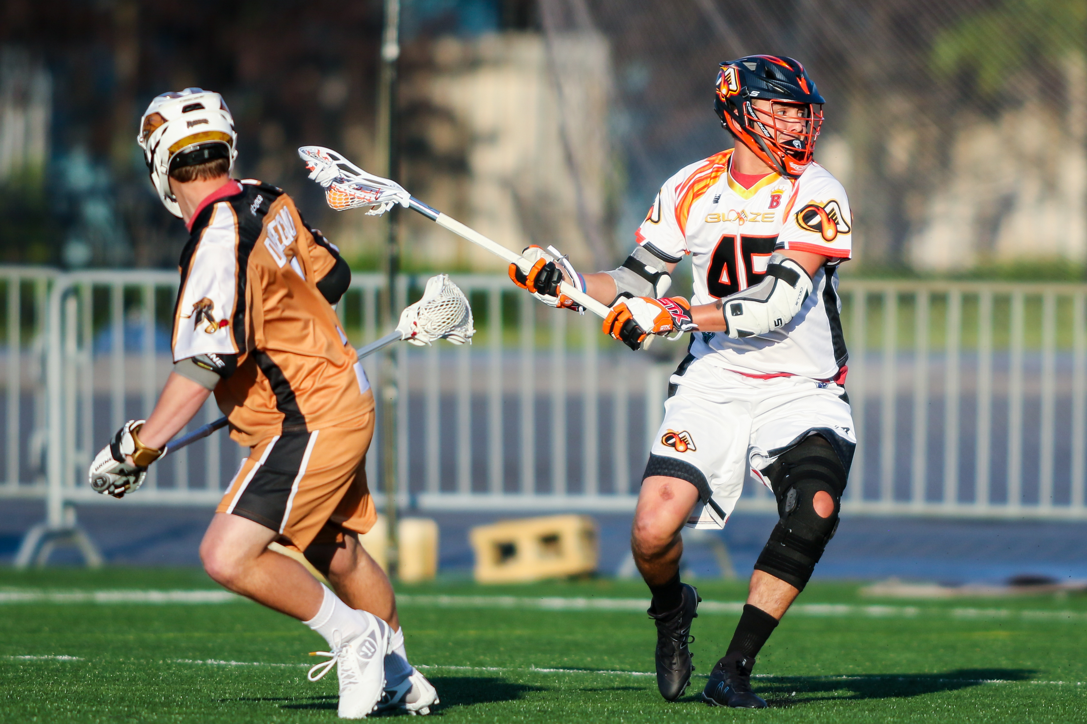 June 24, 2017; Rochester, NY, USA; Atlanta Blaze @ Rochester Rattlers at Capelli Sport Stadium. (Photo credit: Major League Lacrosse)