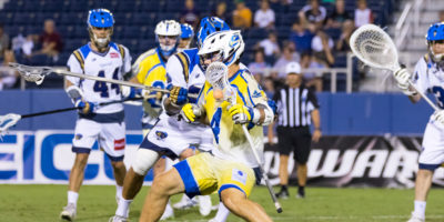 July 22, 2017; Boca Raton, FL, USA; Charlotte Hounds @ Florida Launch at FAU Stadium. Photography Credit: Lawrence Ream
