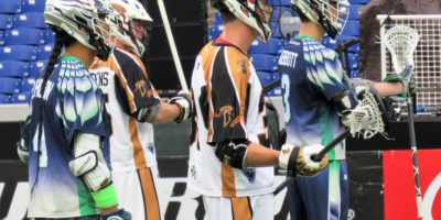 Rochester Rattlers and Chesapeake Bayhawks on July 2, 2017. (Photo credit: Rocco Granato)