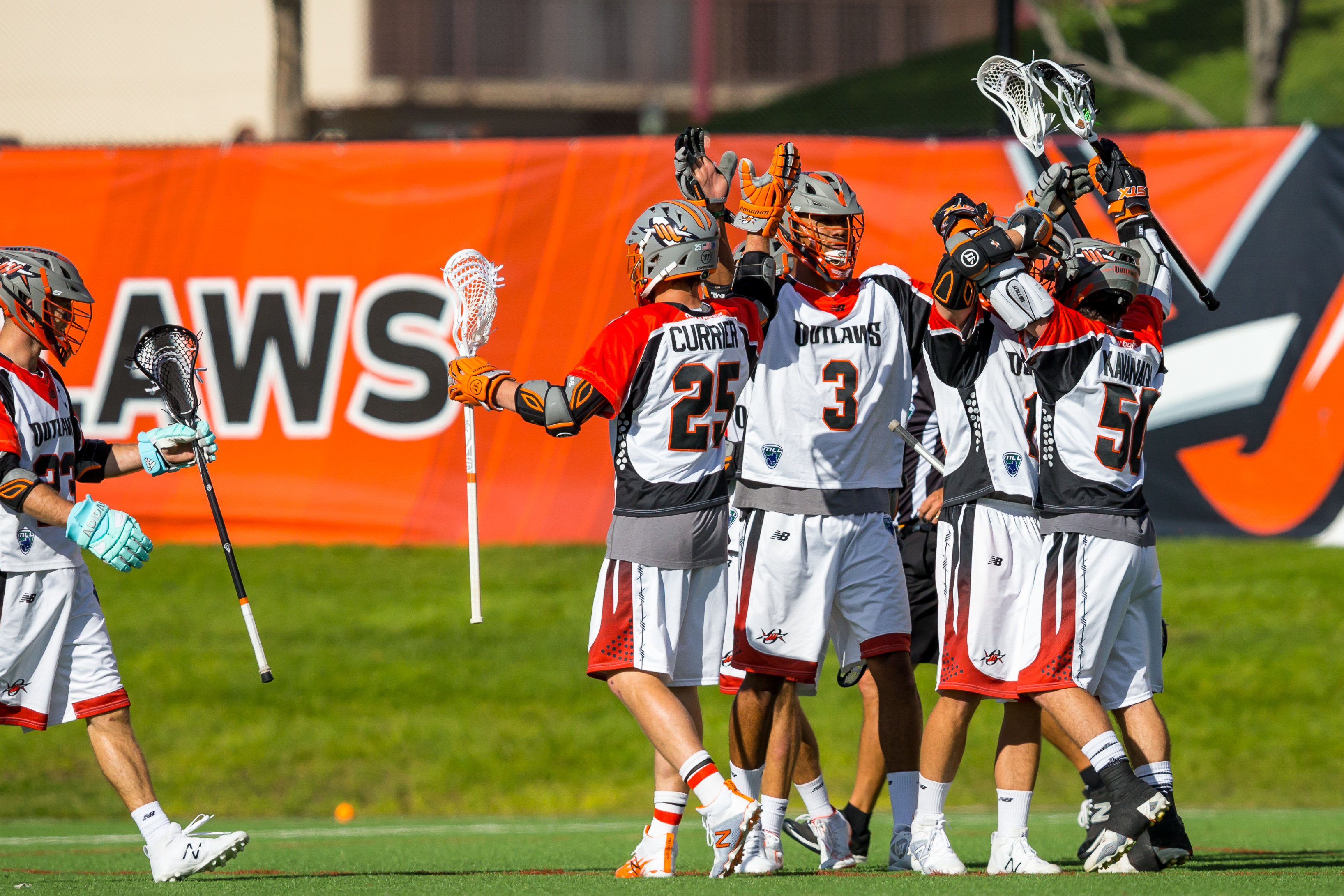 August 12, 2017; Denver, CO, USA; Rochester Rattlers @ Denver Outlaws at Barton Lacrosse Stadium. Photography Credit: Isaiah Downing