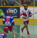 Mann Cup: Salmonbellies draw first blood