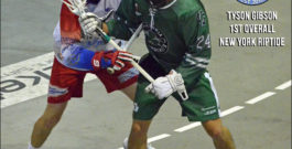 NLL: Tyson Gibson selected first overall by New York Riptide in Entry Draft